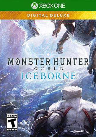 Monster Hunter World: Iceborne Digital Deluxe (Xbox One Download Code)