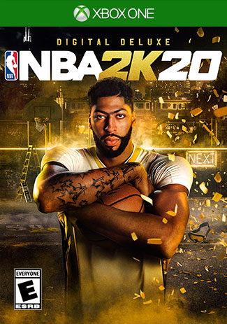 Official NBA 2K20 Deluxe Edition (Xbox One Download Code)