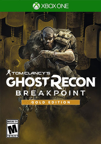 Official Tom Clancys Ghost Recon Breakpoint Gold Edition (Xbox One Download Code)