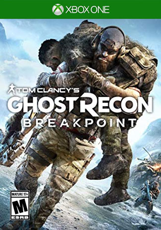Official Tom Clancys Ghost Recon Breakpoint Standard Edition (Xbox One Download Code)