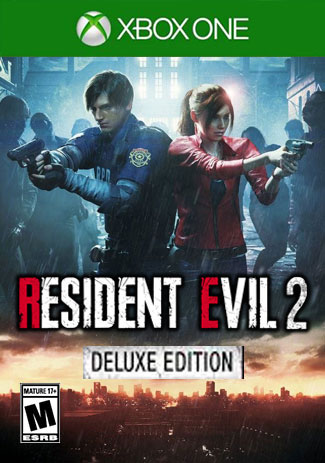 Official RESIDENT EVIL 2 Remake Deluxe Edition (Xbox One Download Code)
