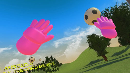 GoalkeepVr Key