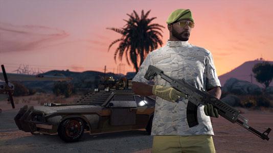 Grand Theft Auto V Xbox One Code
