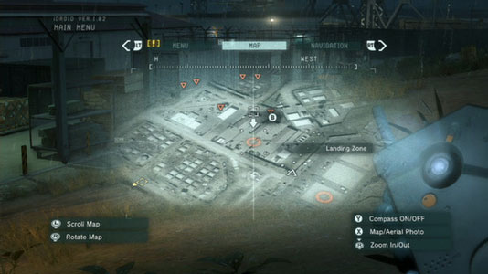 METAL GEAR SOLID V: GROUND ZEROES Key