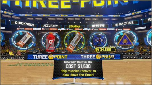 NBA 2KVR Experience Key