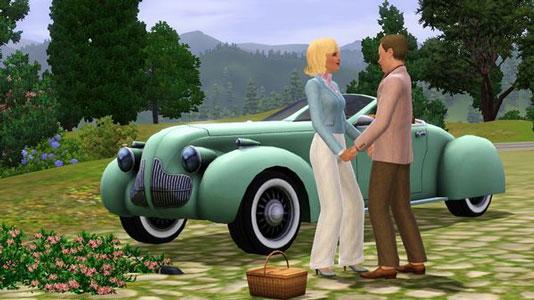 The Sims 3 -  Fast Lane Stuff Key