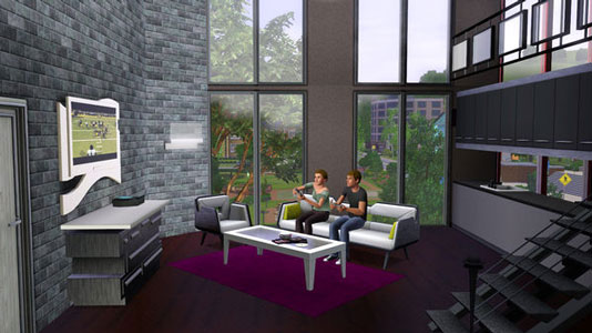 The Sims 3 High-End Loft Stuff Key