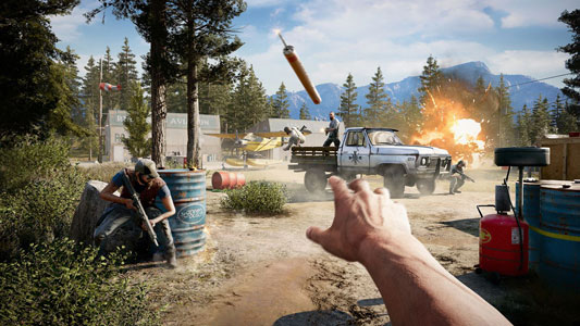 Xbox One FarCry5 Deluxe Edition