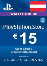 PSN 15 EUR (AT) - PlayStation Network Gift Card
