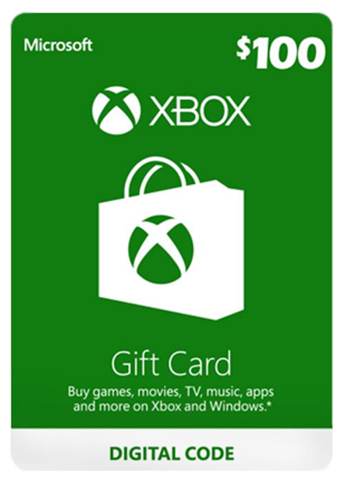 Xbox Live 100 USD Gift Card
