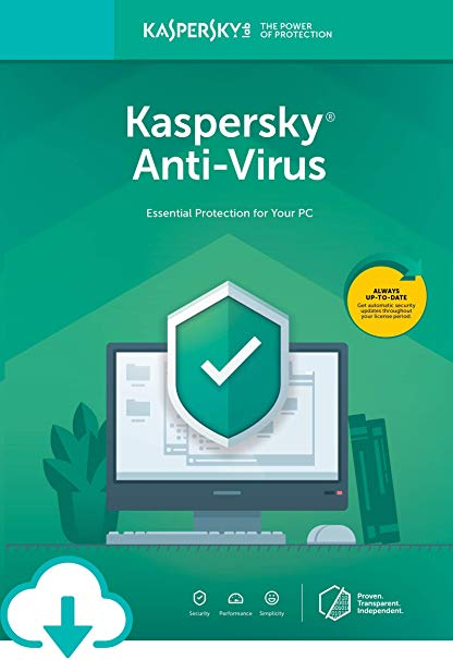 Kaspersky AntiVirus 2016 1 PC 1 Year