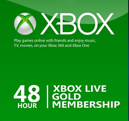 Xbox Live  Gold 48 Hours
