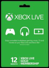 Xbox Live Gold – 12 Monate (Xbox 360/Xbox One/EU)