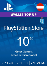 PSN 10 EUR (AT) - PlayStation Network Gift Card