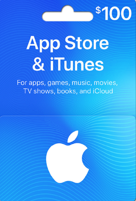 Official Apple iTunes $100 Gutschein-Code US iPhone Store