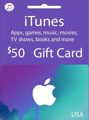 Official Apple iTunes $50 Gutschein-Code US iPhone Store