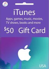 Apple iTunes $50 Gutschein-Code US iPhone Store