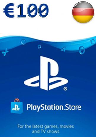 Official PSN 100 EUR (DE) - PlayStation Network Gift Card