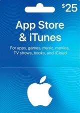 Apple iTunes $25 Gutschein-Code US iPhone Store