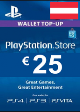 PSN 25 EUR (AT) - PlayStation Network Gift Card